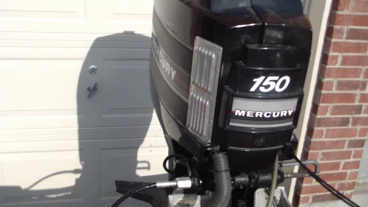starting a 1986 mercury black max outboard 150hp 1979 checkmate exciter 1031ent [ 1280 x 720 Pixel ]