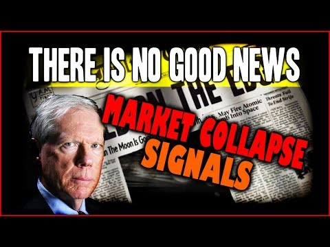 PAUL CRAIG ROBERTS  There is No Good  in Near Future  Market Collapse Signals