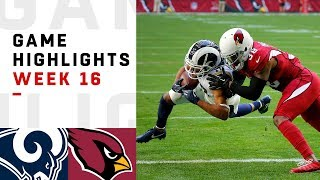 Rams vs. Cardinals Week 16 Highlights