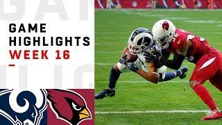 Rams Vs. Cardinals Week 16 Highlights   Nfl 2018