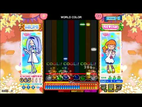 [pop'n music] ビタミンポップ / WORLD COLOR EX mirror