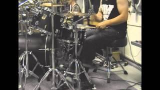 Patrik Fält - Dark Funeral - Vobiscum Satanas (Drum Cover)