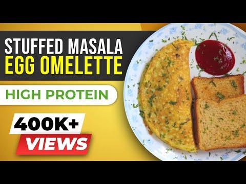Stuffed MASALA Omelette