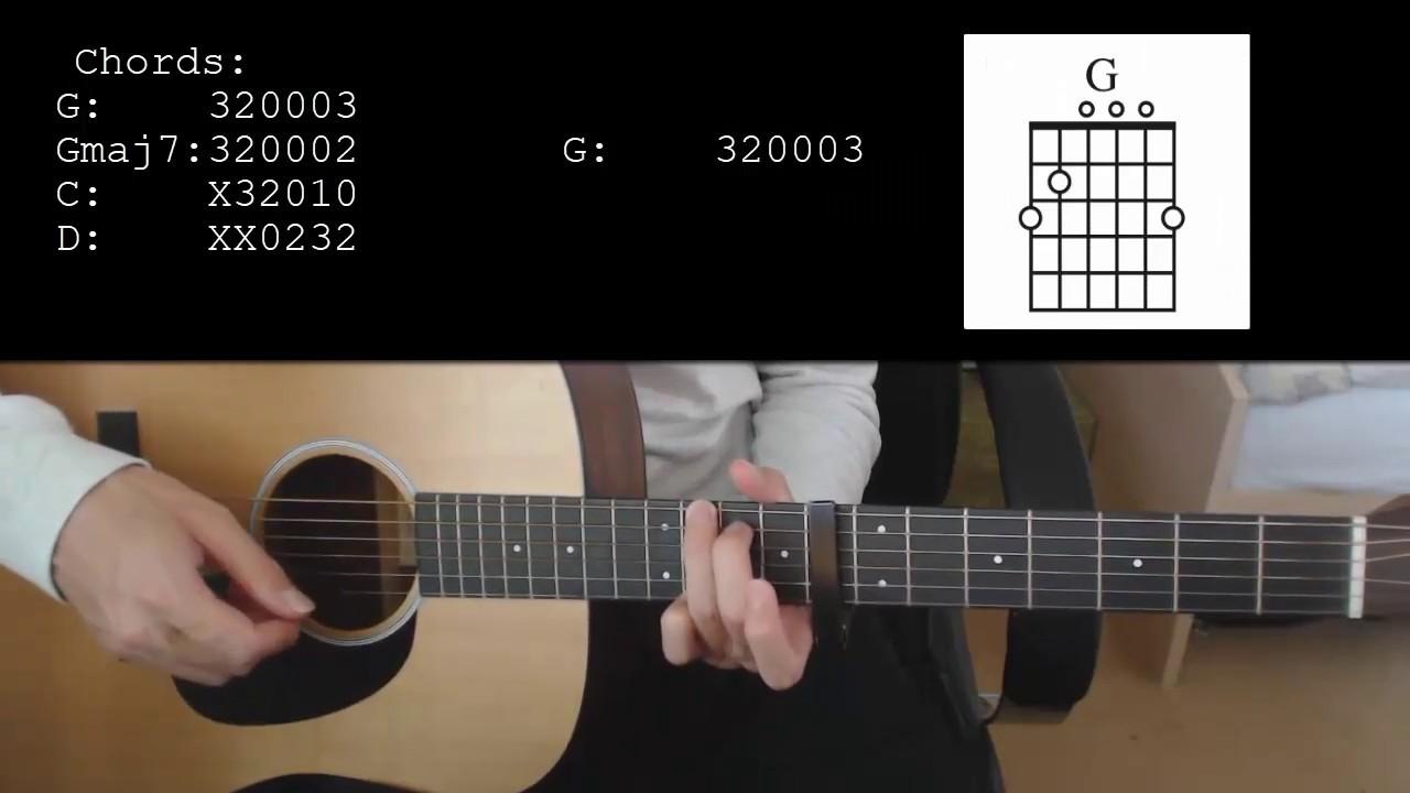 Billie Eilish 8 Easy Guitar Tutorial With Chords