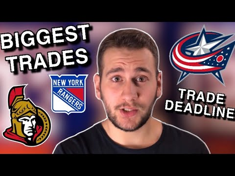 In case you missed it, all NHL trades!