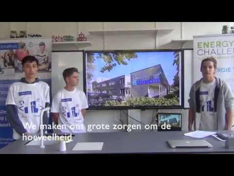 Young Climathon Utrecht - Young students present the Energy Playground