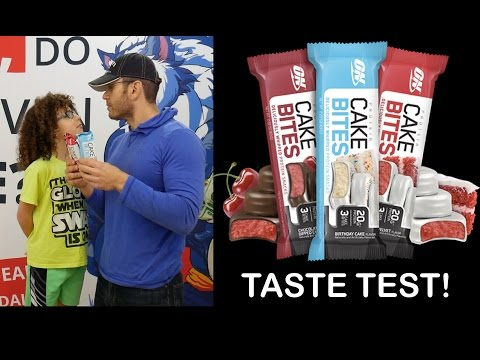 Optimum Nutrition Cake Bites - Review & ALL Flavors Taste Test