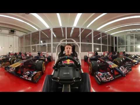Azerbaijan GP - Daniil Kvyat 360 hotlap - Scuderia Toro Rosso
