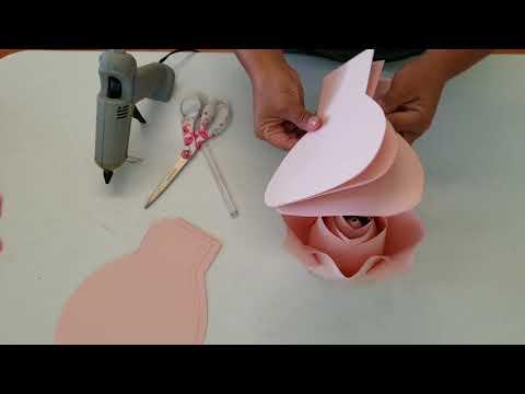 DIY Paper Rose Tutorial