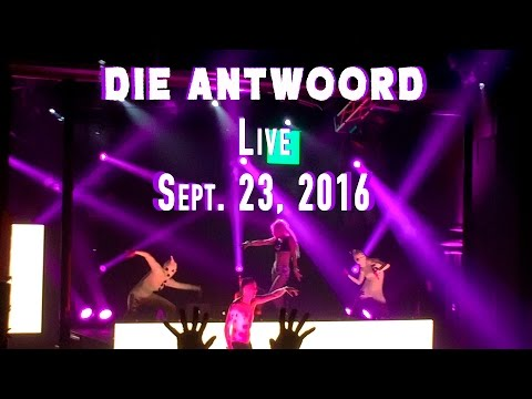 Die Antwoord Live Performance in California - Sept. 2016