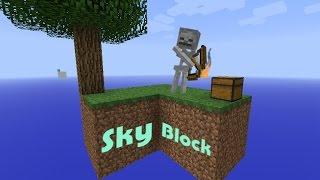 Суровое выживание на парящем острове - LP 'SkyBlock' #1 [Minecraft | SkyBlock]