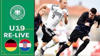 Deutschland - Kroatien 2:1 | Volle Länge | U19 EM-Qualifikation | Eliterunde