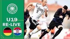 Deutschland - Kroatien 2:1   Volle Länge   U19 EM-Qualifikation   Eliterunde