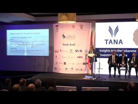 LDE Africa 2017 | Insights into the Lebanese Investment in Africa