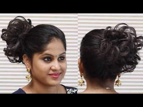 Updo Hairstyles For Round Faces Youtube