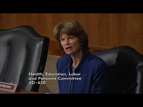 Senator Murkowski Questions HHS Secretary Nominee Alex Azar