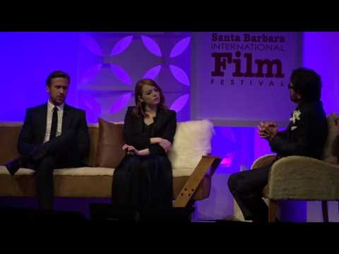 SBIFF 2017 - Ryan Gosling Discusses Working With Emma Stone