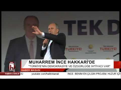 Muharrem İnce: Erdoğan bana Hakkari'de Türk bayrağı olacak mı diye sordu?
