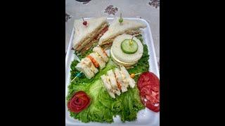 Chicken club sandwich recipe with Sidra Zahid