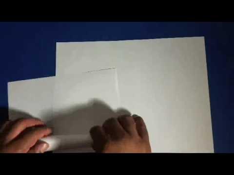 3 Dimensional Build Of A Paper Laser Gun