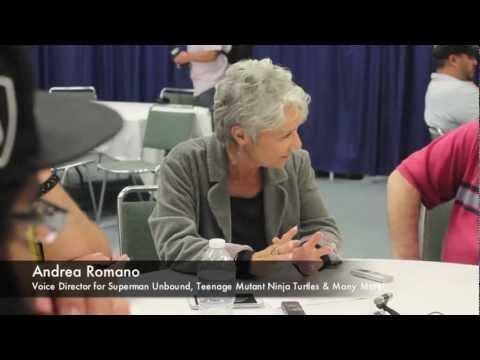 WonderCon 2013 Superman Unbound Movie Interview With Andrea Romano & Bob Goodman