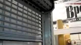 видео Механические роллетные решетки