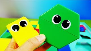 learn colors with blocks ブロックで色あわせ|子供向けおもちゃ動画