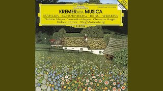 Webern: Four Pieces, Op.7 - for violin and piano - 4. Bewegt