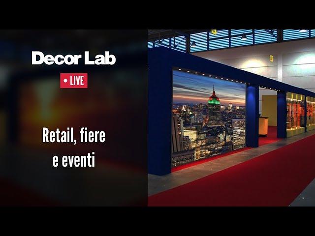 Exhibit Design: retail, fiere e eventi