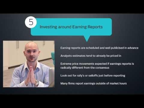 Trading strategy - Analysing company stocks