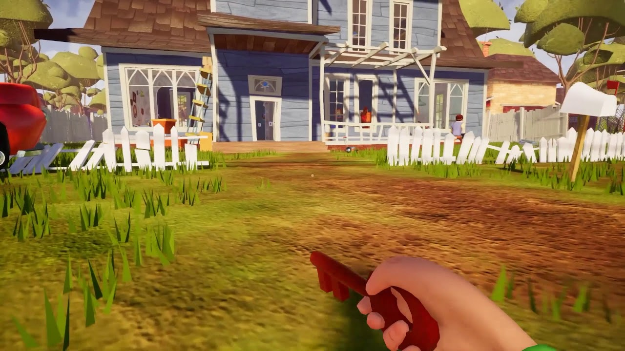 Hello Neighbor Act 1 Gameplay