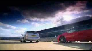 Golf GTI Edition 30 vs Ford Focus ST(Golf GTI Edition 30 vs Ford Focus ST on Fifth Gear's Hot Hatch Shootout. Tiff drifting both cars towards a poor overall review and conclusion., 2007-05-24T13:21:51.000Z)