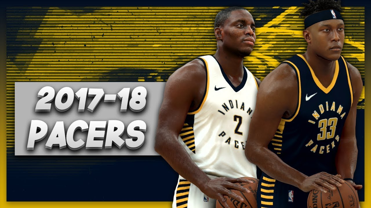 competitive price 9ea5b adc70 NBA 2K17 2017-18 Indiana Pacers Nike Jersey & Court Tutorial
