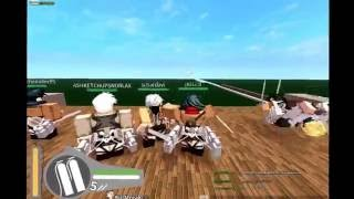 {roblox} Attack On Titan Ep.1
