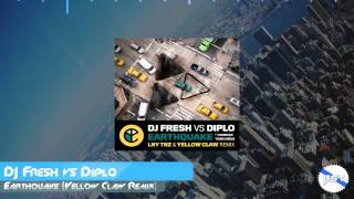 DJ Fresh vs Diplo - Earthquake (LNY TNZ & Yellow Claw Remix) [Trap x Hardstyle]