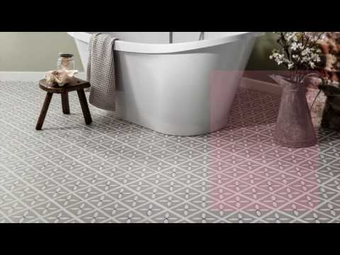 Bathroom Flooring Ideas | Beautiful Luxury Vinyl Flooring Designs