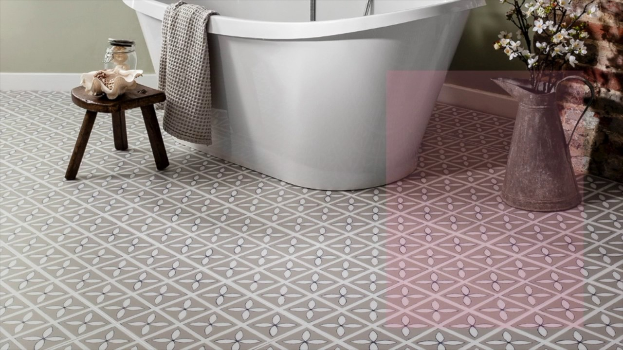 Flooring Bathroom Ideas Part - 17: Bathroom Flooring Ideas | Beautiful Luxury Vinyl Flooring Designs - YouTube