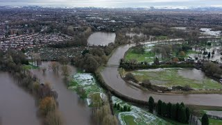 video: Storm Christoph: Around 400 homes flooded as river levels remain 'exceptionally high'