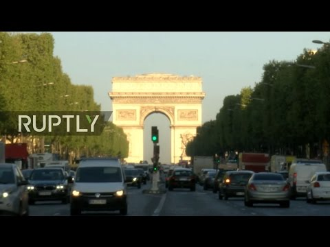 LIVE from Paris morning after attack on Champs Elysees
