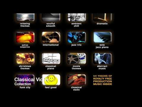 royalty free production music CLASSICAL VIOLIN Instant download !!