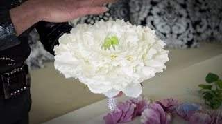 Repeat youtube video How to make a Glamelia Floristry Tutorial