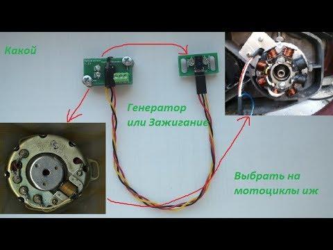 Какой генератор или зажигание выбрать на мотоциклы иж CDI, С МИНСКА,ИЛИ,ОПТИКУ