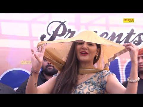 Sapna Chaudhry का पल्लो में भाभी पटोला डांस देख सब की आँखे खुली रह गई | Sapna Song 2018 | Trimurti