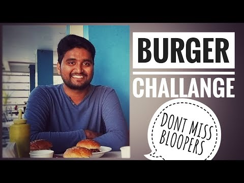 BURGER CHALLANGE||DONT MISS THE BLOOPERS #Funny #Bloopers #Broandsisterchallange