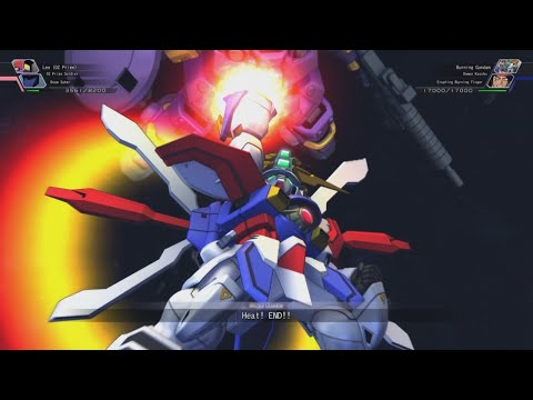 SD Gundam G Generation Cross Rays - Erupting God/Burning Finger Attacks