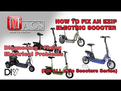 [ZSVE_7041]  How To Fix an eZip Electric Scooter (For ALL Series) - YouTube | Currie Scooter Wiring Diagram |  | YouTube