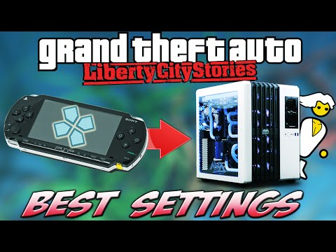 PPSSPP Emulator: BEST PERFORMANCE Settings [GTA Liberty City Stories]