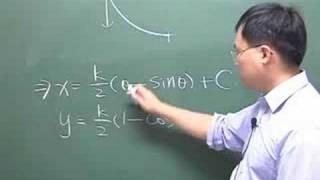 数学变分法最速降线求解和摆线等时性
