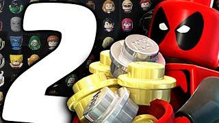 Все Персонажи - LEGO Marvel Super Heroes - Часть 2