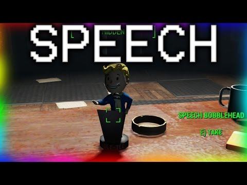 Speech Bobblehead Location - Fallout 4 - More caps for bartering!